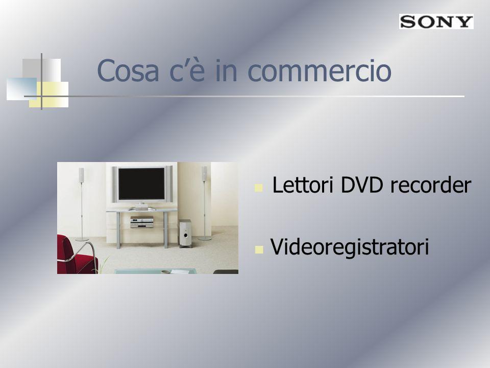 Cosa cè in commercio Lettori DVD recorder Videoregistratori