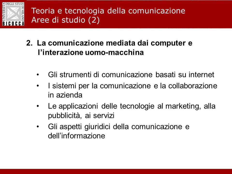 Laurea Magistrale in Informatica - Nuovo regolamento didattico 3.