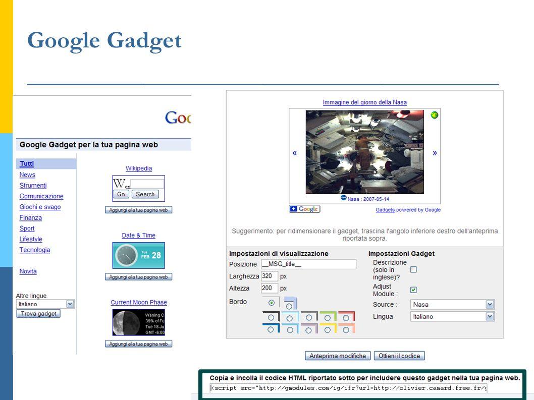 Google Gadget