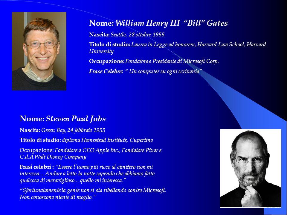 1°Apile 1976: nasce la APPLE Computer Company di Steve Jobs e Steve Wozniak.