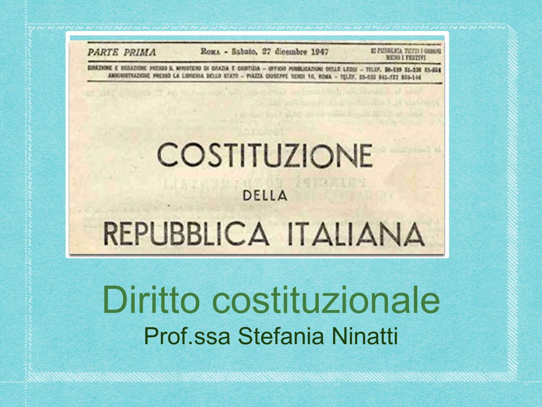 Programma 2013 Manuale: Groppi/Simoncini, Introduzione allo studio del diritto pubblico, Giappichelli, 2012 (esclusa II parte del cap.