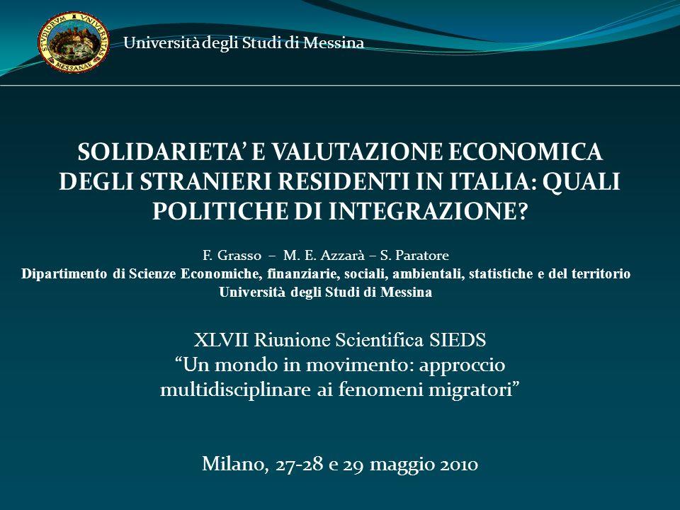 Università degli Studi di Messina Riferimenti bibliografici: Laville, J.L.