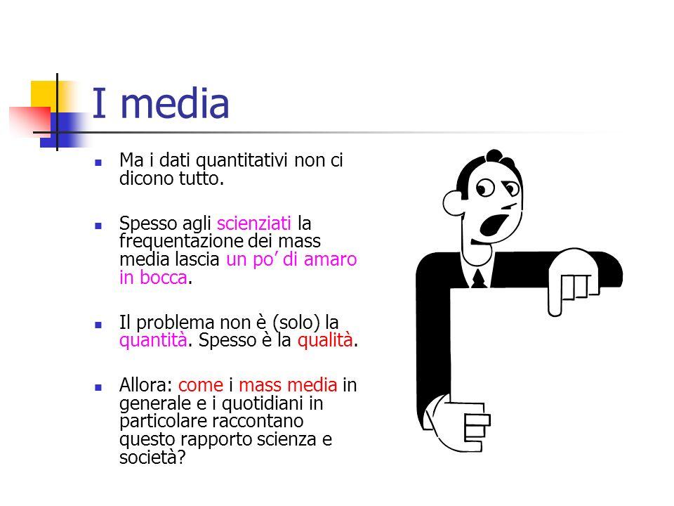 La comunicazione giornalistica Chi fa comunicazione giornalistica della scienza Il giornalista scientifico Il giornalista culturale Il giornalista eco