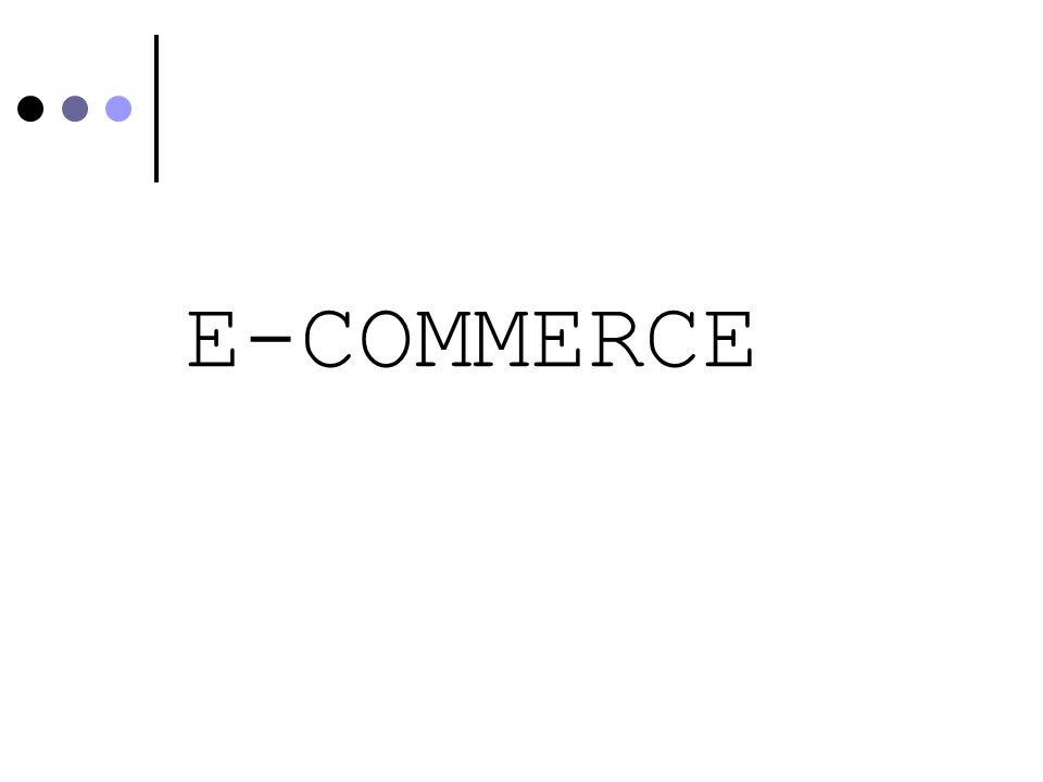 LE FASI DEL PROCESSO DI CONSUMO ON LINE Le-shopping (uso della Rete per la ricerca di info e la comparazione delle alternative) è più diffuso delle-commerce (transazione elettronica) Le attività di e-shopping possono interessare anche imprese che non offrono alcun servizio di commercio elettronico
