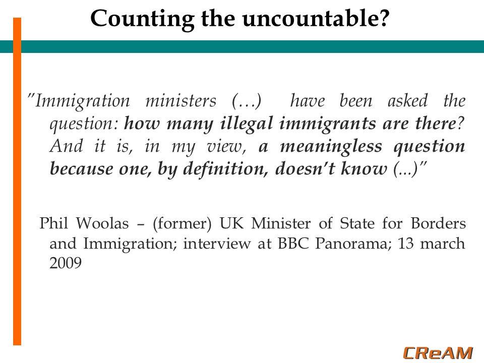 Immigrati irregolari nella UE Quanti immigrati irregolari ci sono attualmente in Europa.