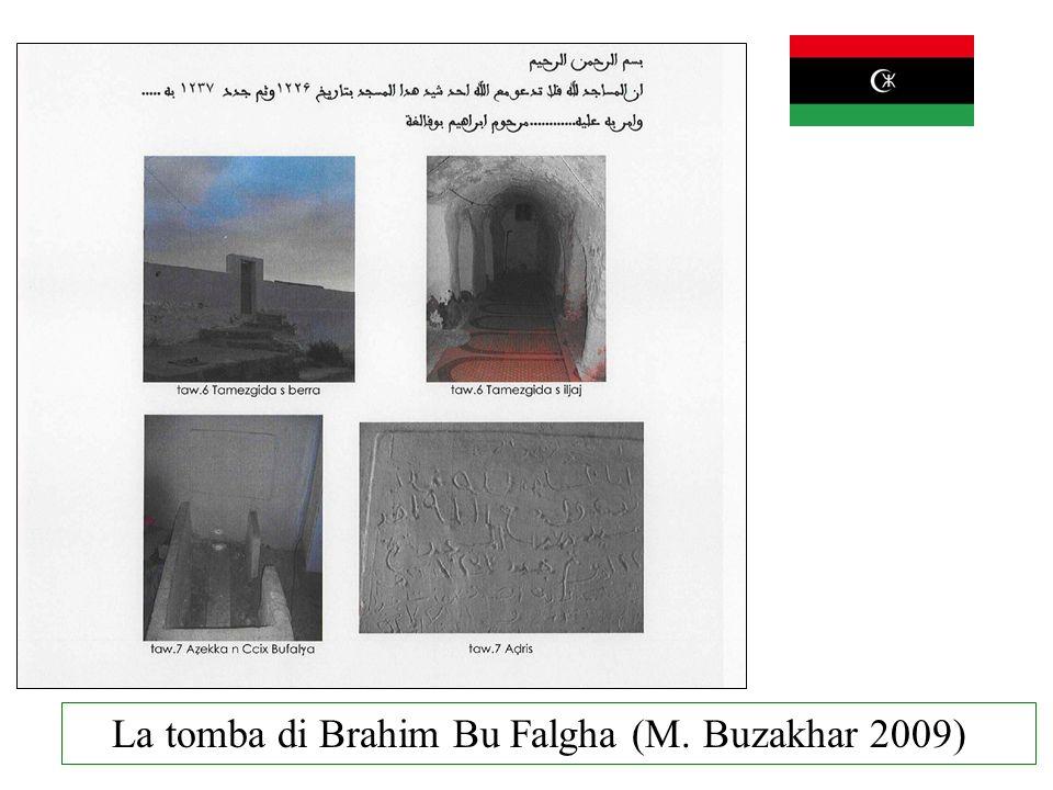 La tomba di Brahim Bu Falgha (M. Buzakhar 2009)