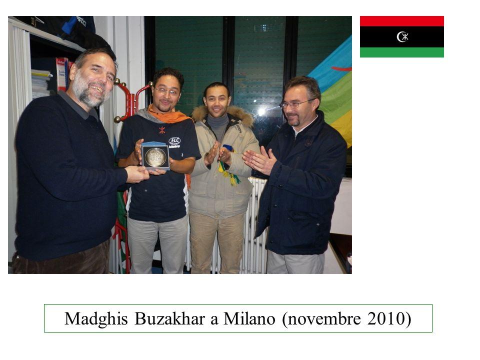Madghis Buzakhar a Milano (novembre 2010)