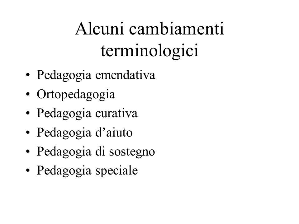 Le radici della pedagogia speciale italiana Jean-Marc Gaspard Itard (1774-1838) Eduard Séguin (1812-1880) Sante de Sanctis Maria Montessori Giuseppe Ferruccio Montesano