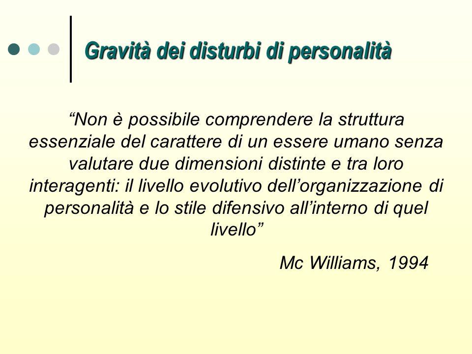 Non è possibile comprendere la struttura essenziale del carattere di un essere umano senza valutare due dimensioni distinte e tra loro interagenti: il