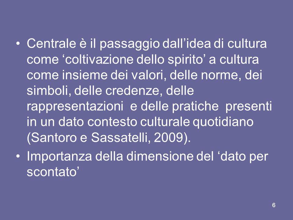 3) Lideologia come forma di razionalizzazione La visione di Pareto (sociologo ed economista italiano: 1848/1923).