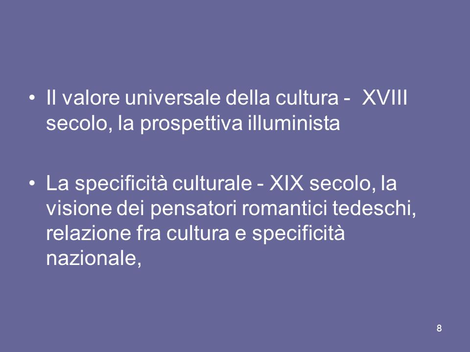 4) La visione di Karl Mannheim e la concezione totale dellideologia Ideologia non come distorsione legata a forme particolari di interesse, ma concezione del mondo complessiva ( Weltanschauung ).
