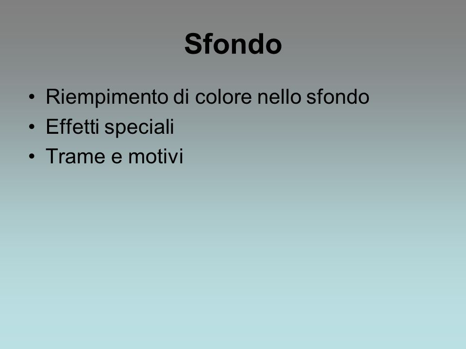Modello E una diapositiva predefinita inclusa in PowerPoint.