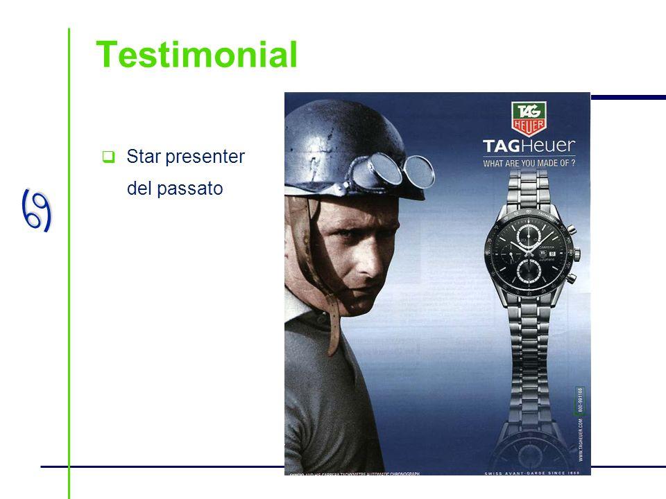 a Testimonial Star presenter del passato