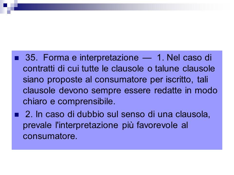 35.Forma e interpretazione 1.