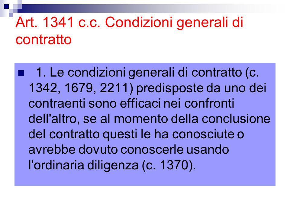 36.Nullità di protezione 1. Le clausole considerate vessatorie ai sensi degli artt.
