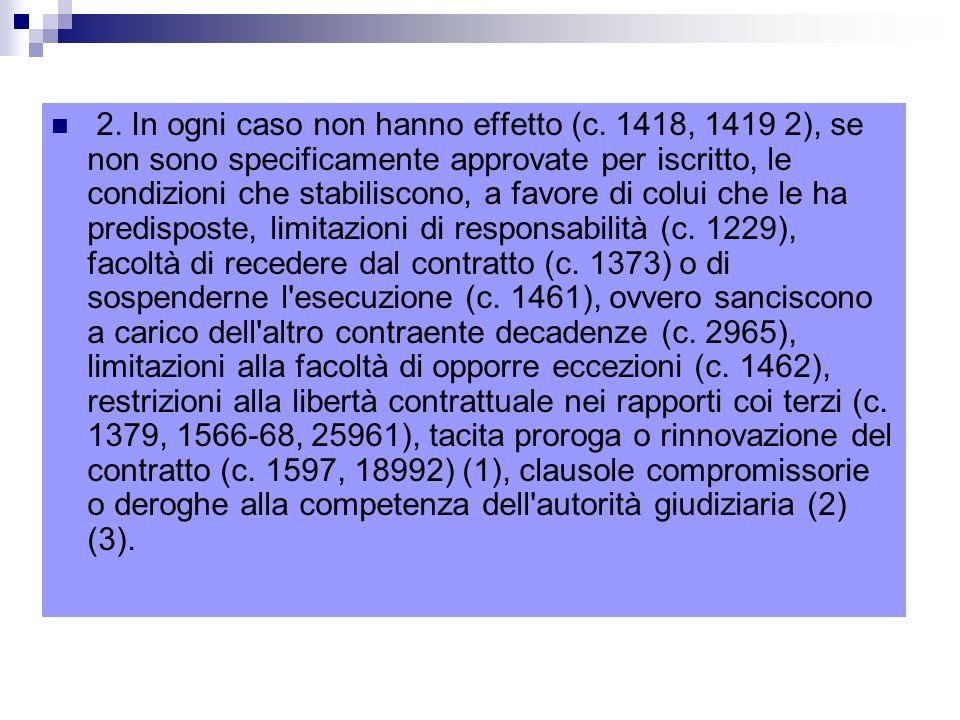 1342.Contratto concluso mediante moduli o formulari.