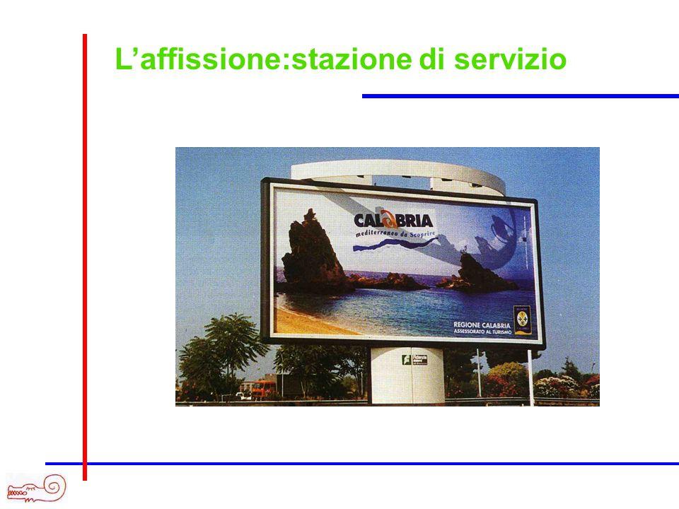 Laffissione:stazione di servizio