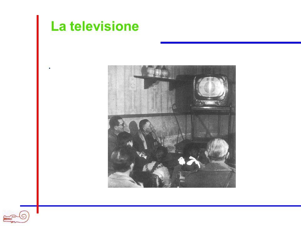 La televisione.