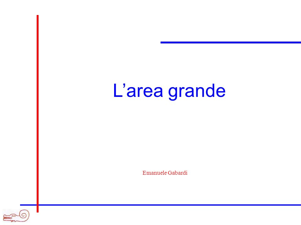 Larea grande Emanuele Gabardi