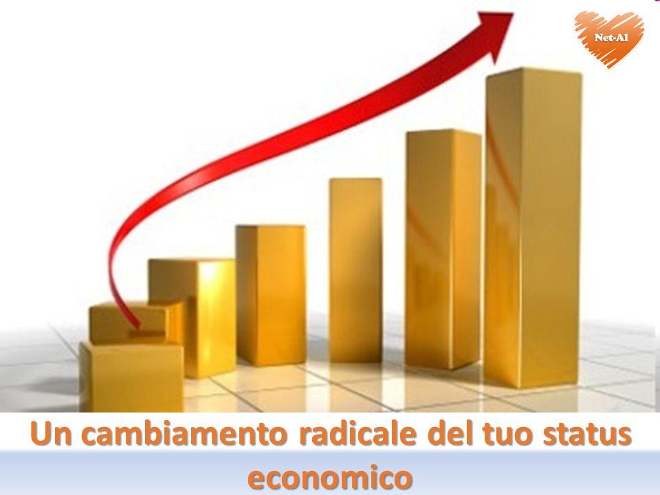 Un cambiamento radicale del tuo status economico