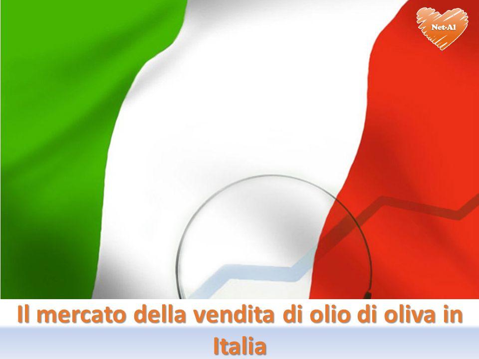 Il mercato della vendita di olio di oliva in Italia