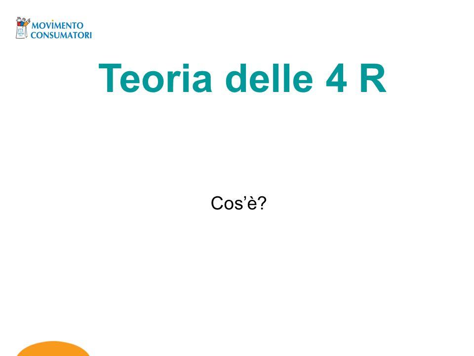Teoria delle 4 R Cosè?