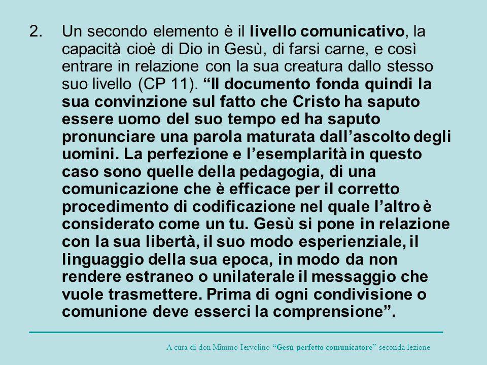 Secondo paragrafo IL COMPORTAMENTO DI GESÙ A proposito dei gesti e dei comportamenti di Gesù L.