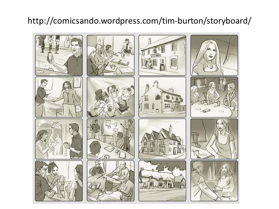 http://comicsando.wordpress.com/tim-burton/storyboard/