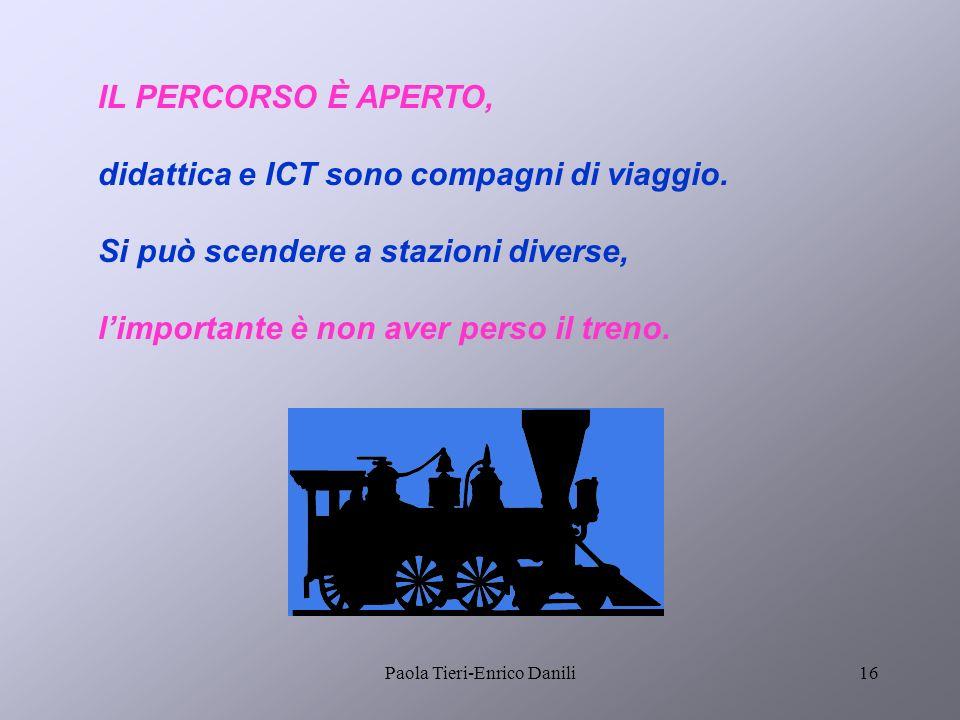Paola Tieri-Enrico Danili15 CD corsi A Se i corsisti sono proprio a digiuno per partire potranno accedere ai materiali INDIRE con un CD.