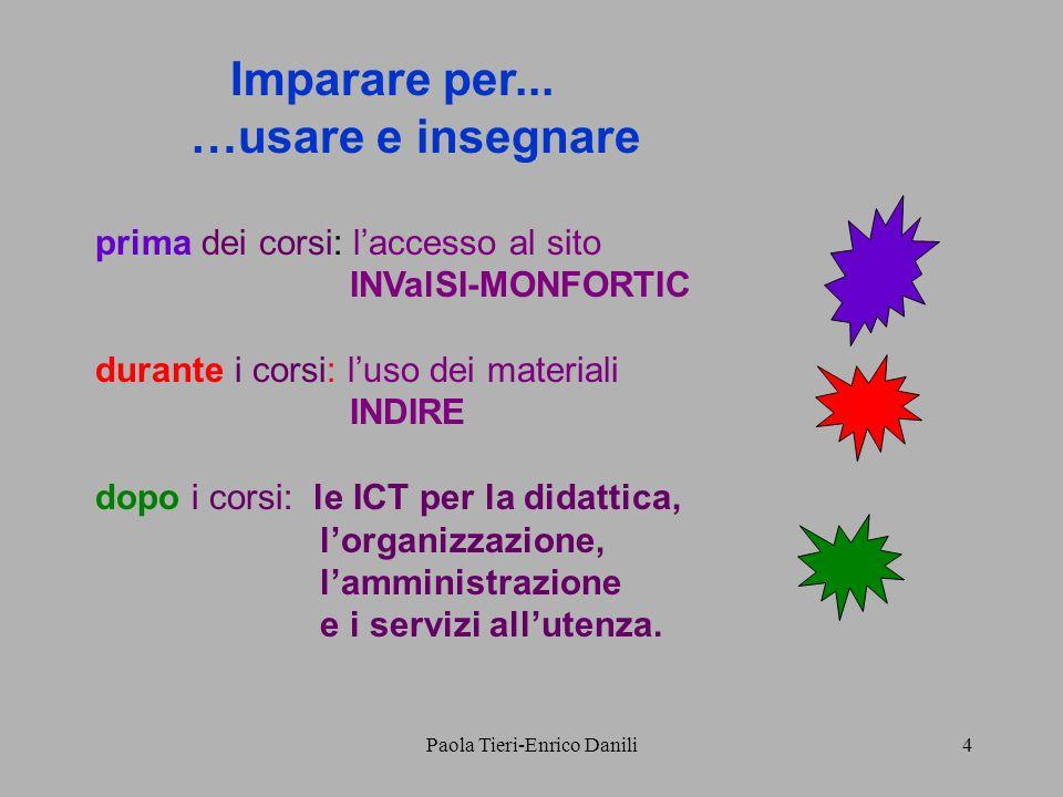 Paola Tieri-Enrico Danili4 Imparare per...