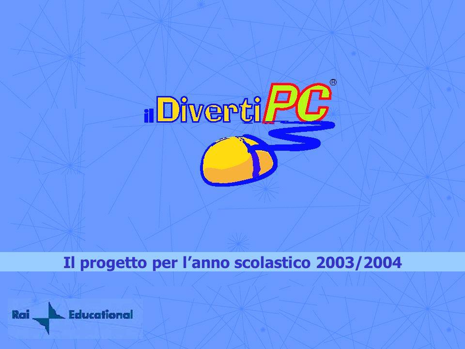 Il progetto per lanno scolastico 2003/2004