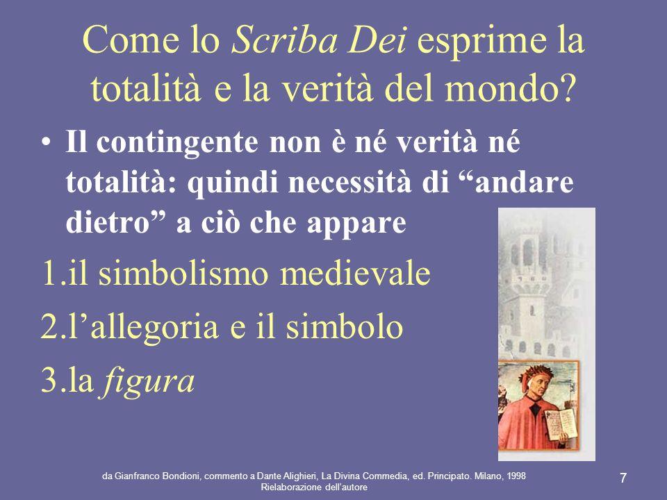da Gianfranco Bondioni, commento a Dante Alighieri, La Divina Commedia, ed.