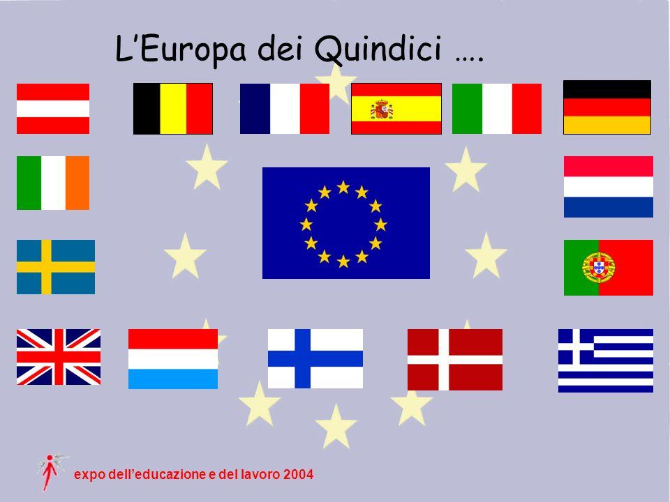 expo delleducazione e del lavoro 2004 LEuropa dei Quindici ….
