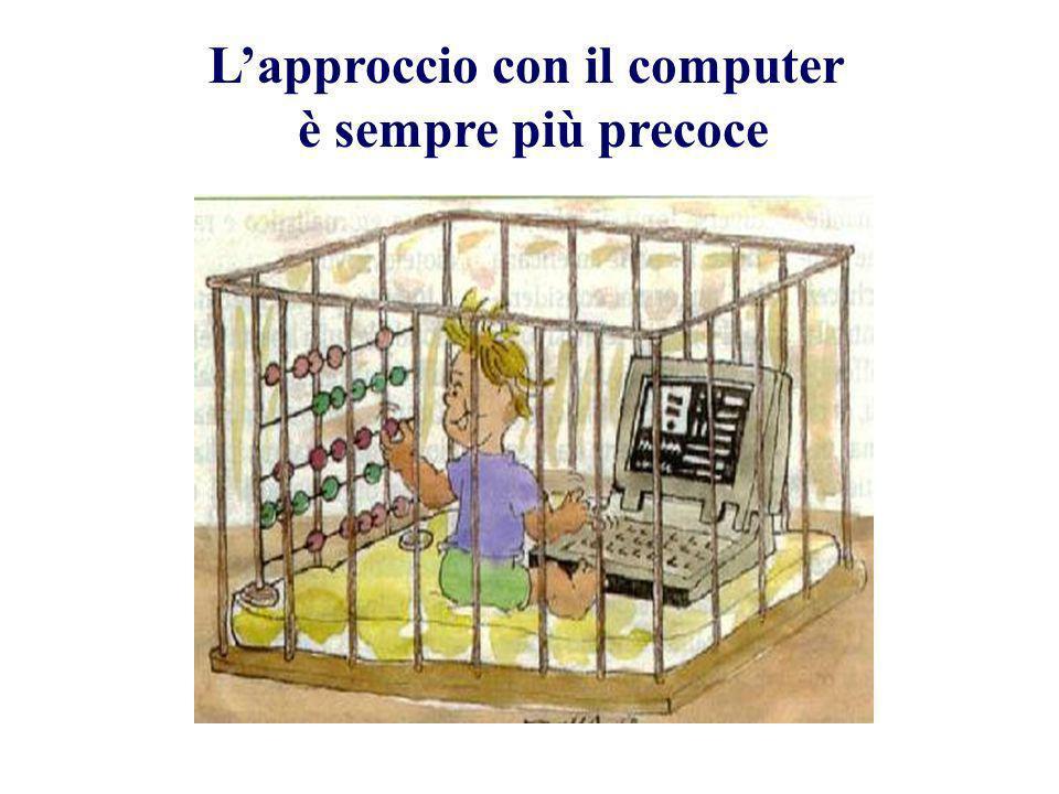 Lapproccio con il computer è sempre più precoce