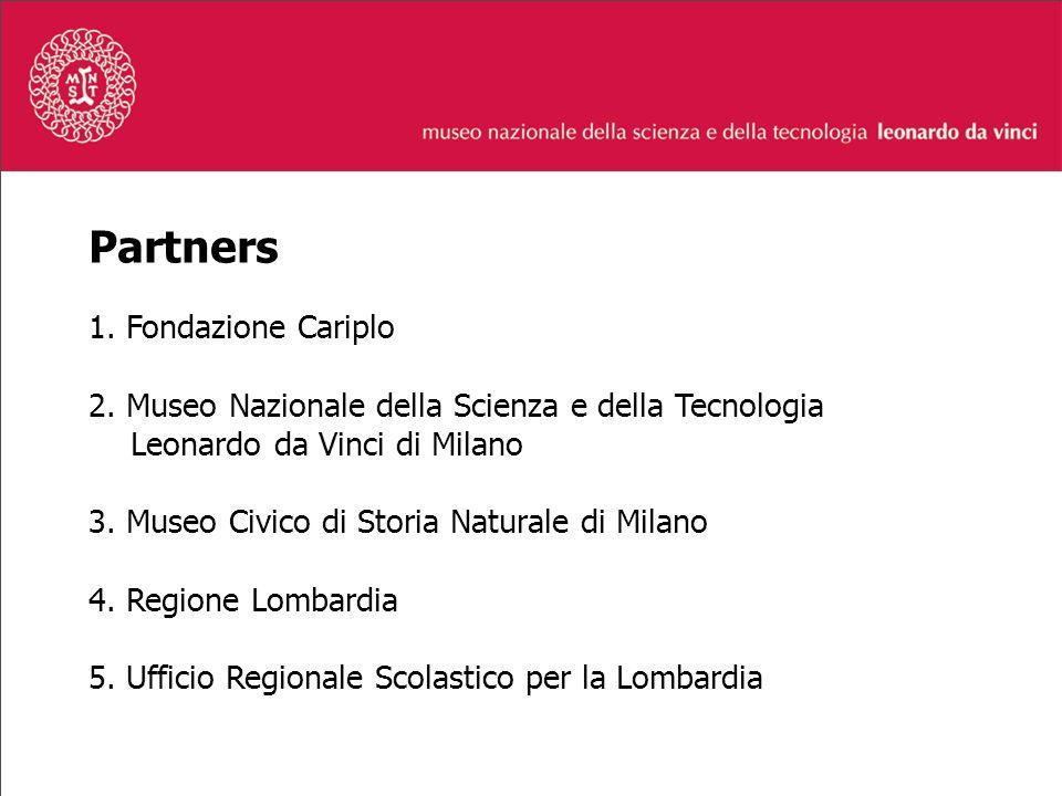 Partners 1. Fondazione Cariplo 2.