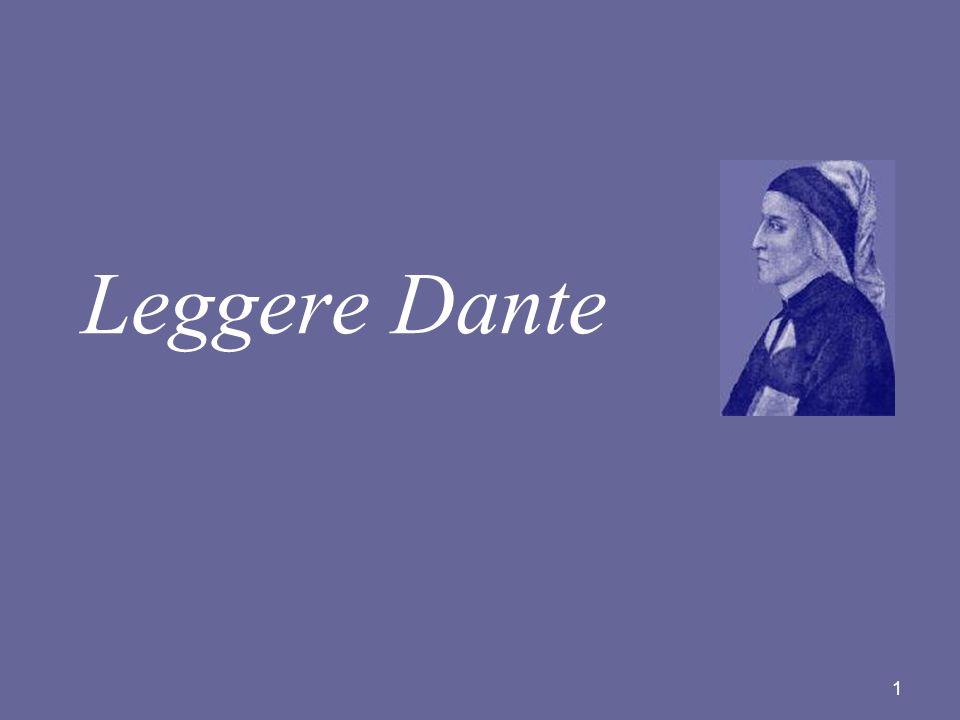 1 Leggere Dante