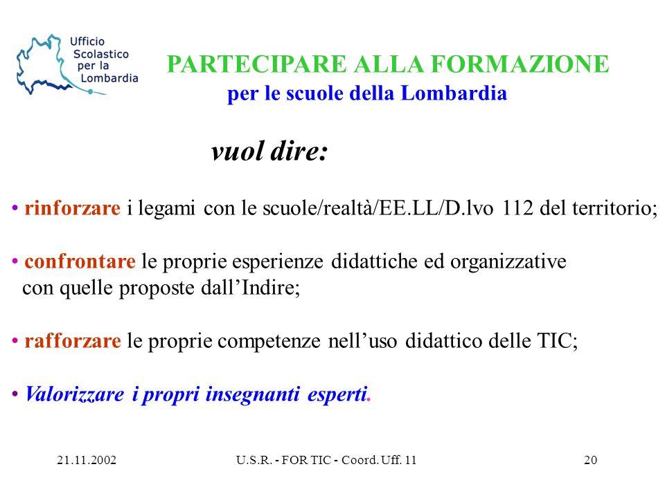 21.11.2002U.S.R. - FOR TIC - Coord. Uff.