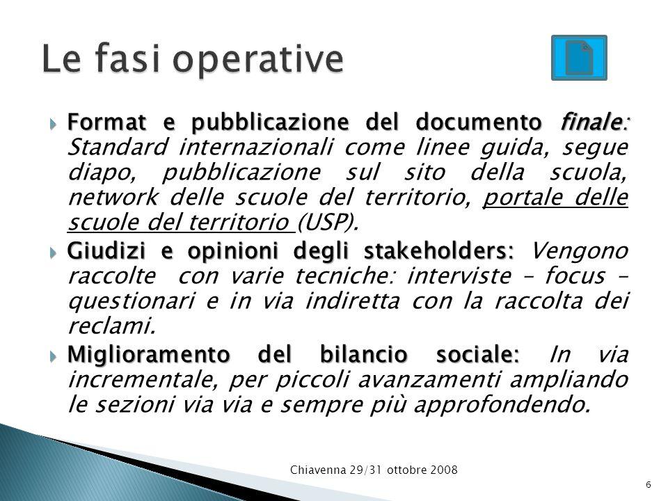 Format e pubblicazione del documento finale: Format e pubblicazione del documento finale: Standard internazionali come linee guida, segue diapo, pubbl