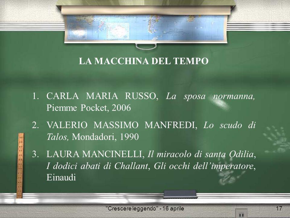 Crescere leggendo - 16 aprile18 Palermo, novembre 1185.