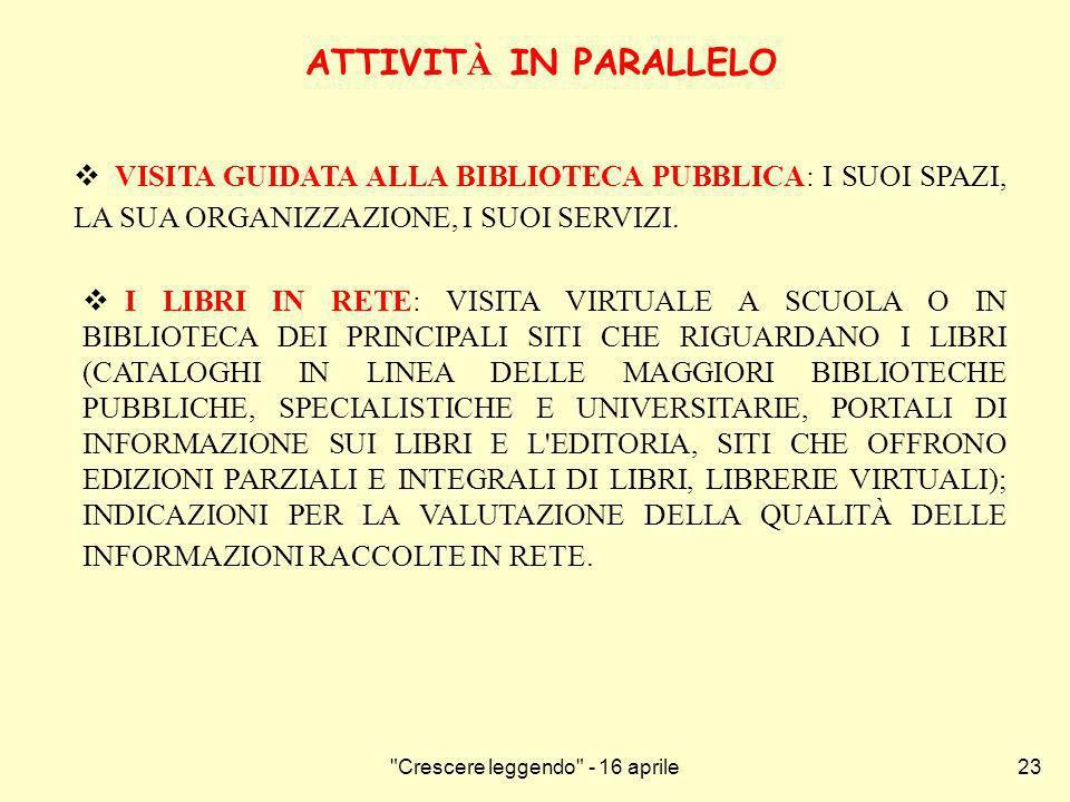 Crescere leggendo - 16 aprile24 CINELIBRO DAL LIBRO AL FILM: LETTURA DI IO NON HO PAURA DI N.
