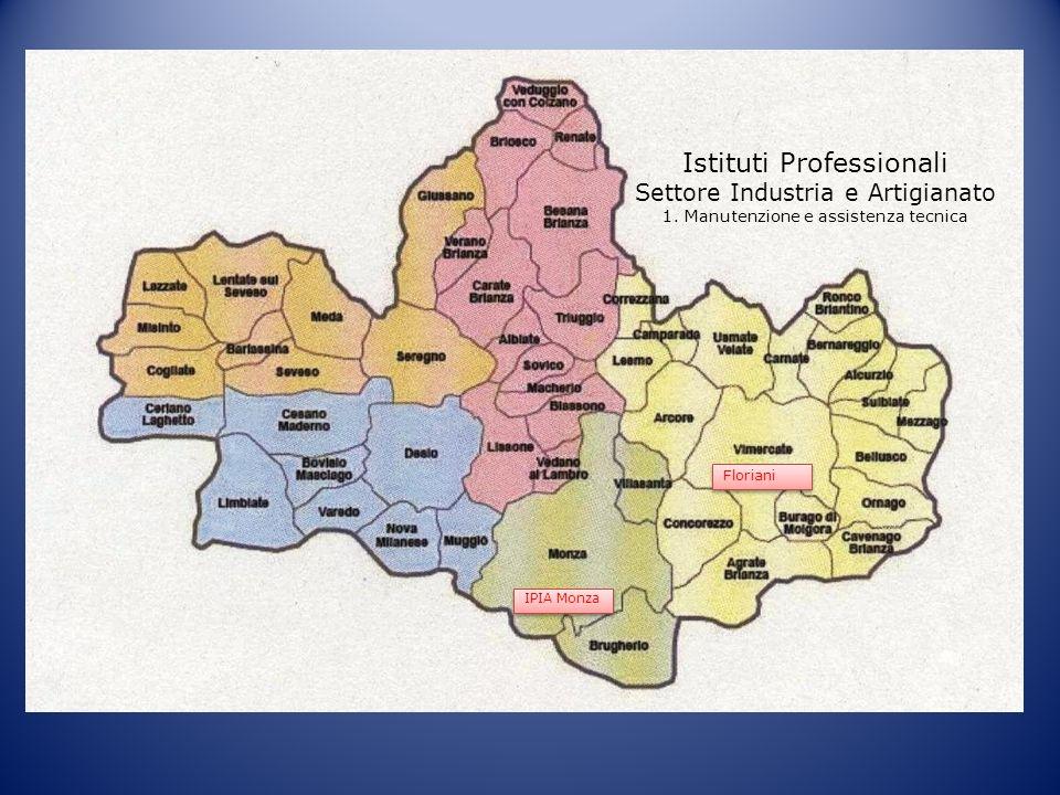 Istituti Professionali Settore Industria e Artigianato 1. Manutenzione e assistenza tecnica IPIA Monza Floriani