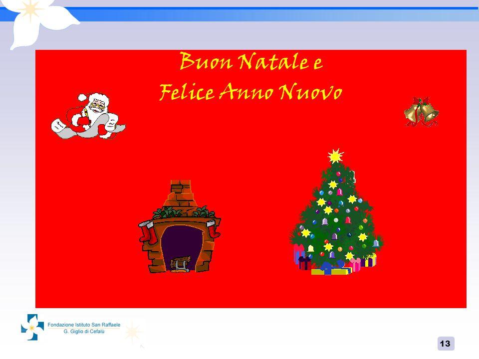 13 Buon Natale e Felice Anno Nuovo