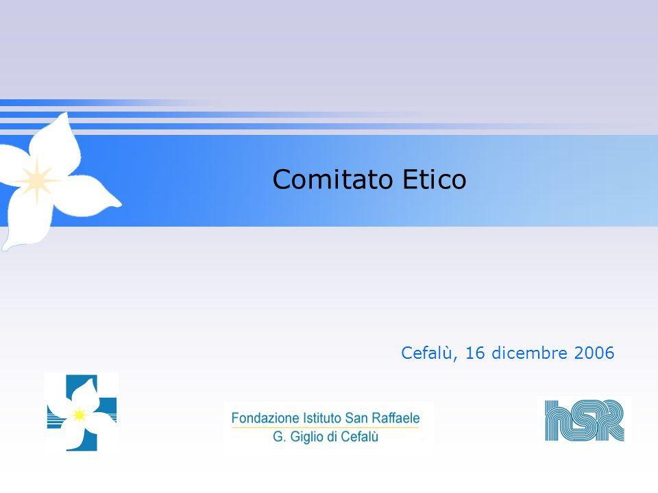 Comitato Etico Cefalù, 16 dicembre 2006