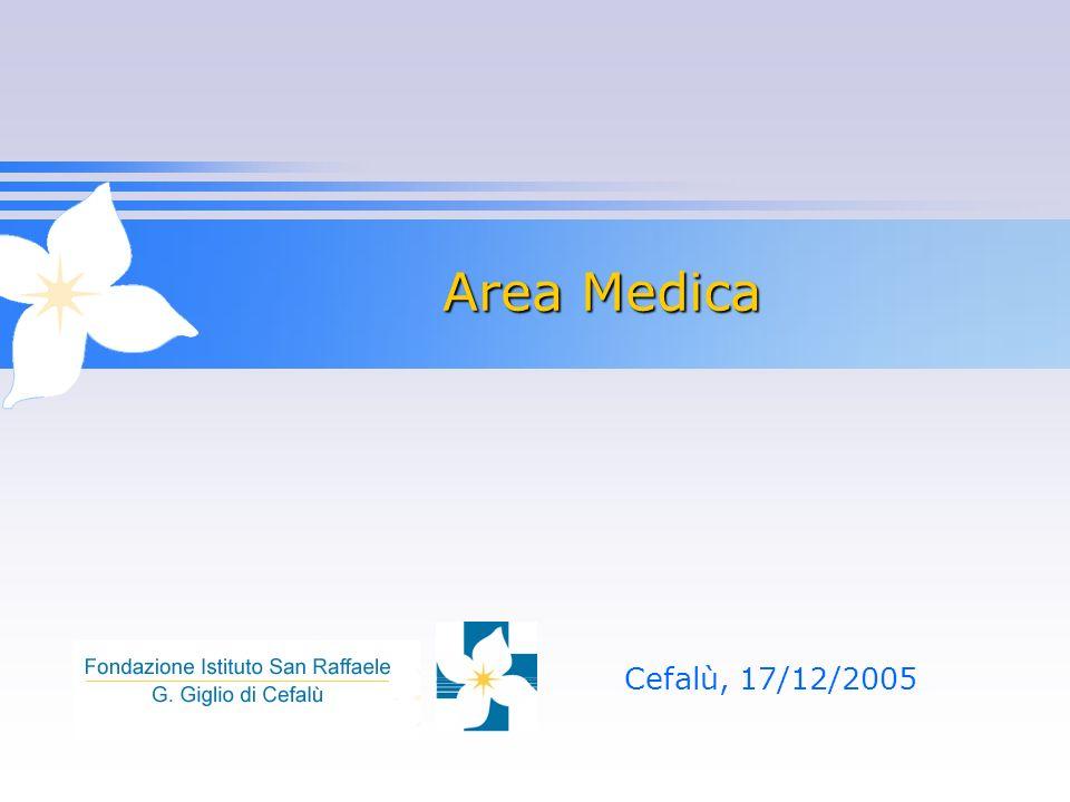 Area Medica Cefalù, 17/12/2005