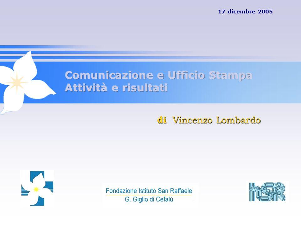 17 dicembre 2005 di Vincenzo Lombardo