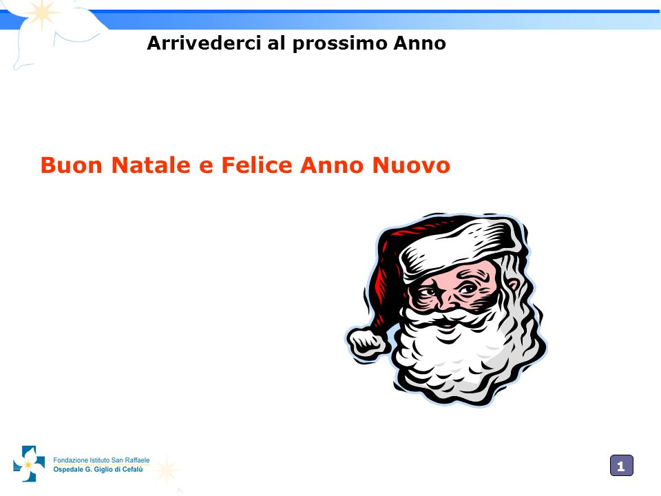 1010 Arrivederci al prossimo Anno Buon Natale e Felice Anno Nuovo