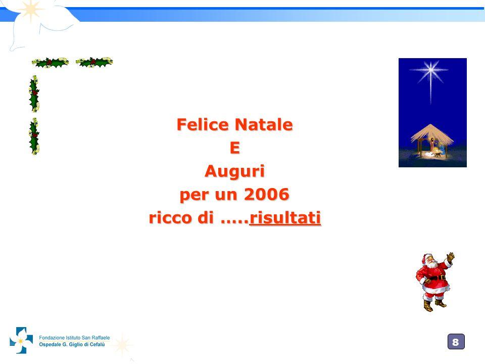 8 Felice Natale EAuguri per un 2006 ricco di …..risultati