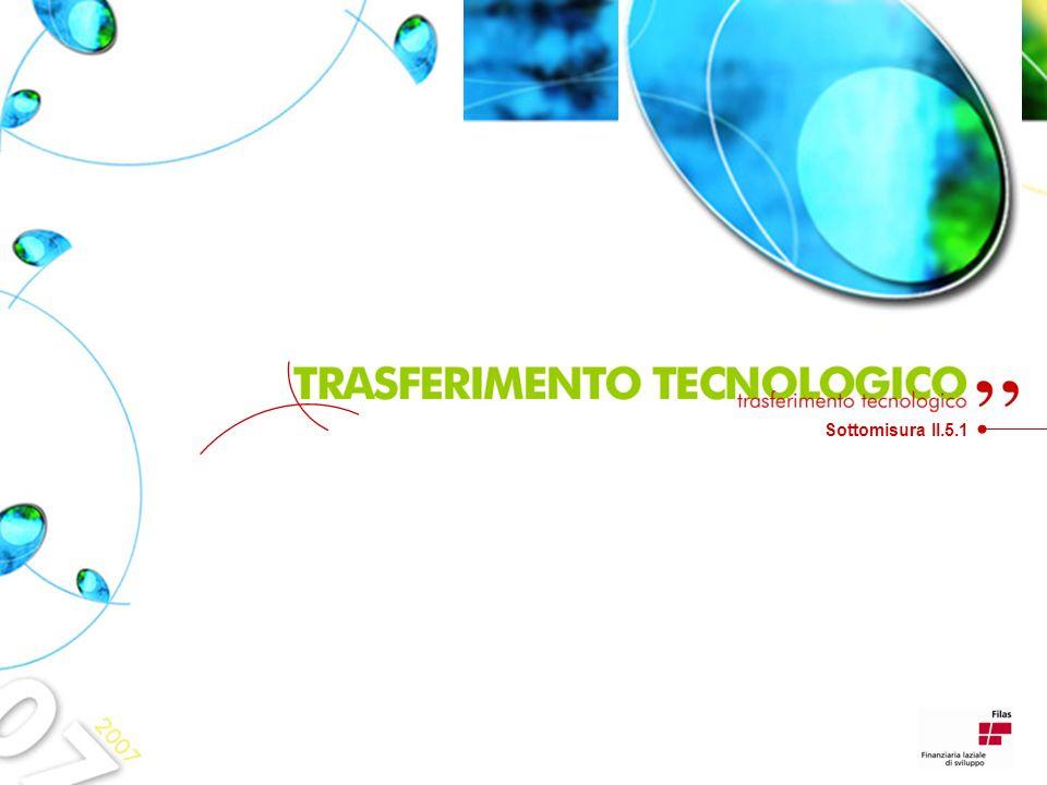 Il trasferimento tecnologico I Tecnofori Il tecnoforo visita lazienda Ricerca delle soluzioni Fine Presenza di bisogni Impresa Si No Fabbisogni emersi No Fine ACCORDO DI COOPERAZIONE Si Animatori