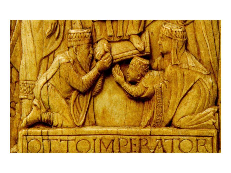 Offerta di un Liber ad Ottone III attorno al 1000.