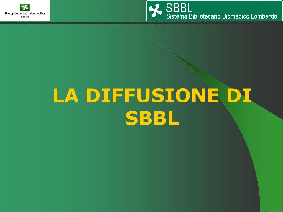 LA DIFFUSIONE DI SBBL